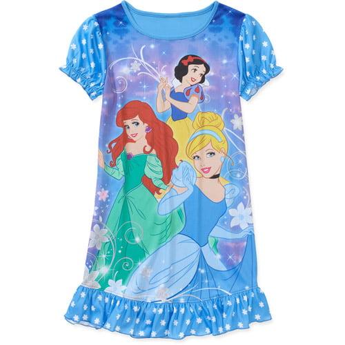 Disney Princesses Girls Jersey Nightgown