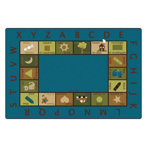 Carpets for Kids Bilingual Circletime Kids Rug