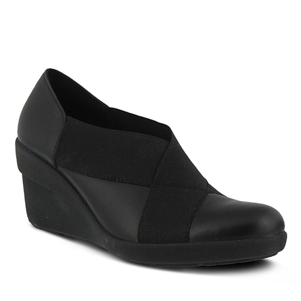 Flexus Women's M Olivia Waterproof Loafers Black Leather Lycra 41 M Women's EU 9.5-10 M 896c73