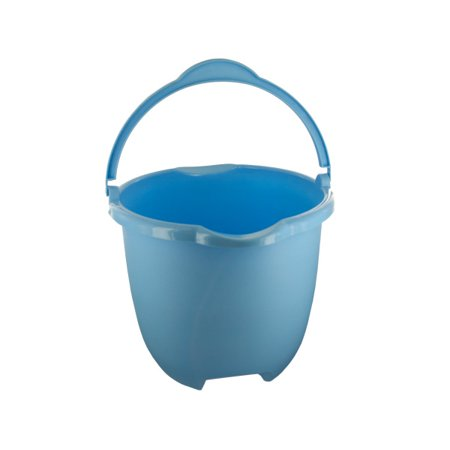 Plastic Bucket With Handle  Pour Spouts (Pack Of 4)