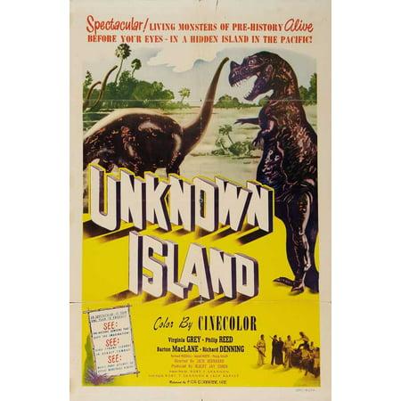 Unknown Island POSTER Movie B (27x40)