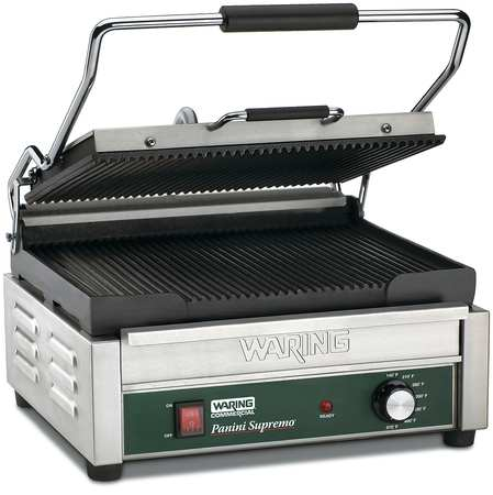 WARING COMMERCIAL WPG250B Large Panini Grill, 208V