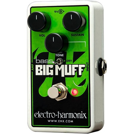 Electro-Harmonix Nano Bass Big Muff Pi Distortion/Sustainer Bass Effect Pedal
