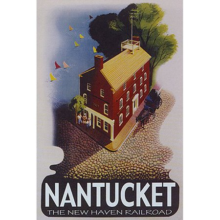 Buy Art For Less 'Nantucket Travel' by Public Domain Vintage