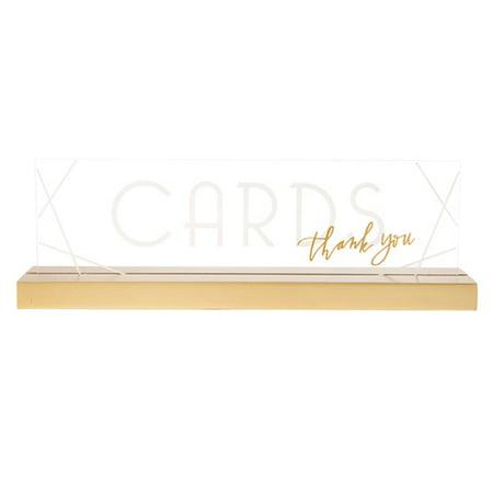 David Tutera Wedding Cards Sign: Acrylic, 8 x 2.51 inches](David Tutera My Fair Wedding Halloween)