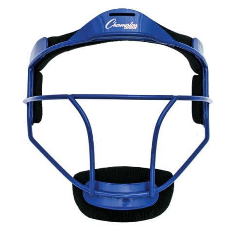 Champion Sports Softball Fielders Face Mask Adult, Blue by Champion Sports