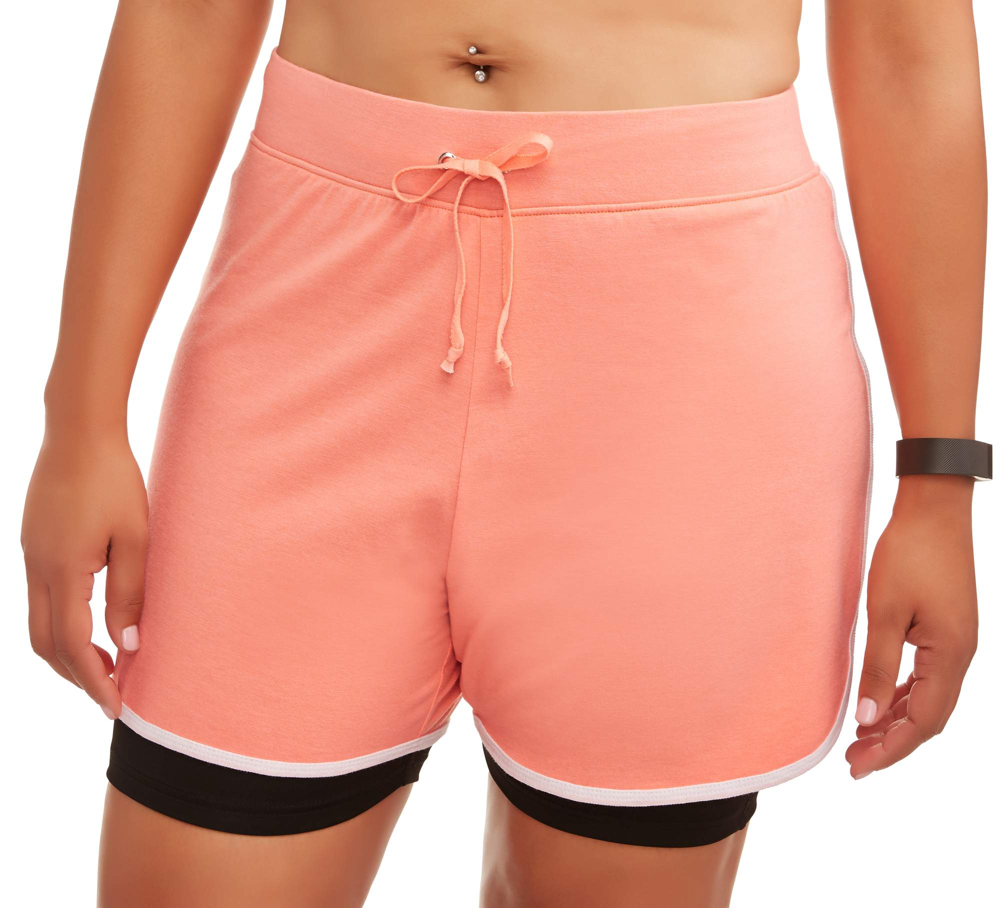 Women's Plus Dolphin Shorts