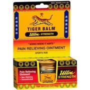 Tiger Balm Ultra Strength 0.63 oz (Pack of 2)