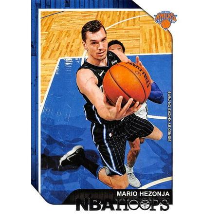 2018-19 Panini Hoops #219 Mario Hezonja New York Knicks Basketball Card