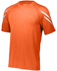 222506 Holloway Unisex Dry-Excel Flux Short-Sleeve Training Top