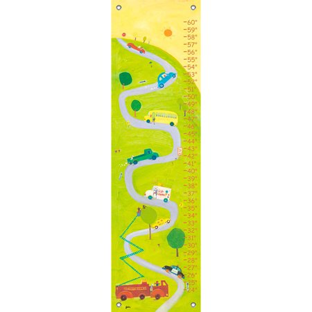 Oopsy Daisy - Growth Chart Up The Hill 12x42 By Jenny Kostecki-Shaw](Garnet Hill Size Chart)