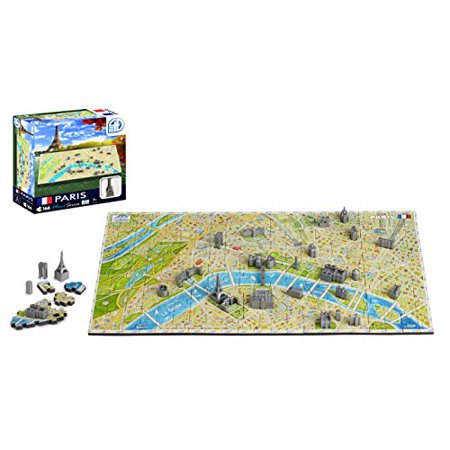 4D Cityscape Mini Puzzle (166 Piece), Paris - image 1 of 6