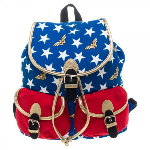 DC Comics Wonder Woman Duffle Backpack Bag