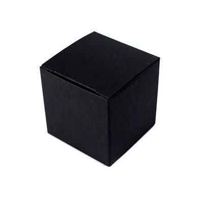 Black Cube Favor Boxes