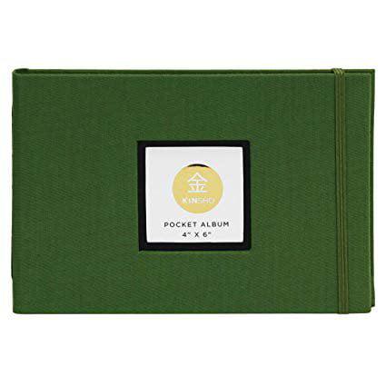 """Kinsho - KINSHO Pocket Albums - 4"""" x 6"""" - Moss"""