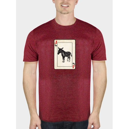 Humor Men's jack ass funny attitude short sleeve graphic t-shirt, up to size (Italian Attitude T-shirt)