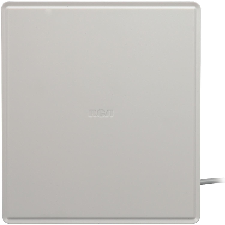 RCA Indoor Omni-Directional Flat Digital TV Antenna, Non-Amplified, 40-Mile Range