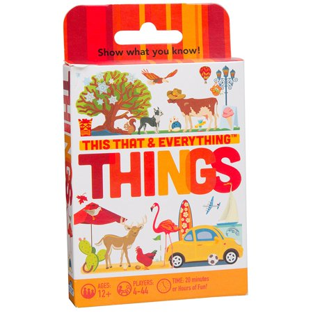 This That & Everything Things Game, This that & everything: things card pack is the name-dropping party game that challenges players to describe things for their.., By Cobble Hill Ship from US](Drop Game)