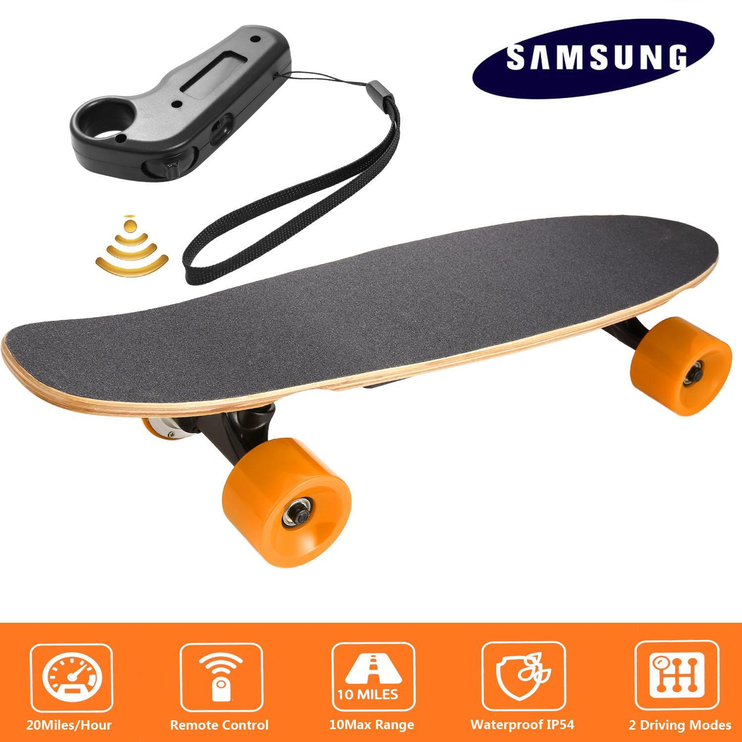 Click here to buy Sumsung Battery ! Cruiser Board Electric off Road Skateboard Wireless Remote with Bluetooth for Boys&Adults CYBST.