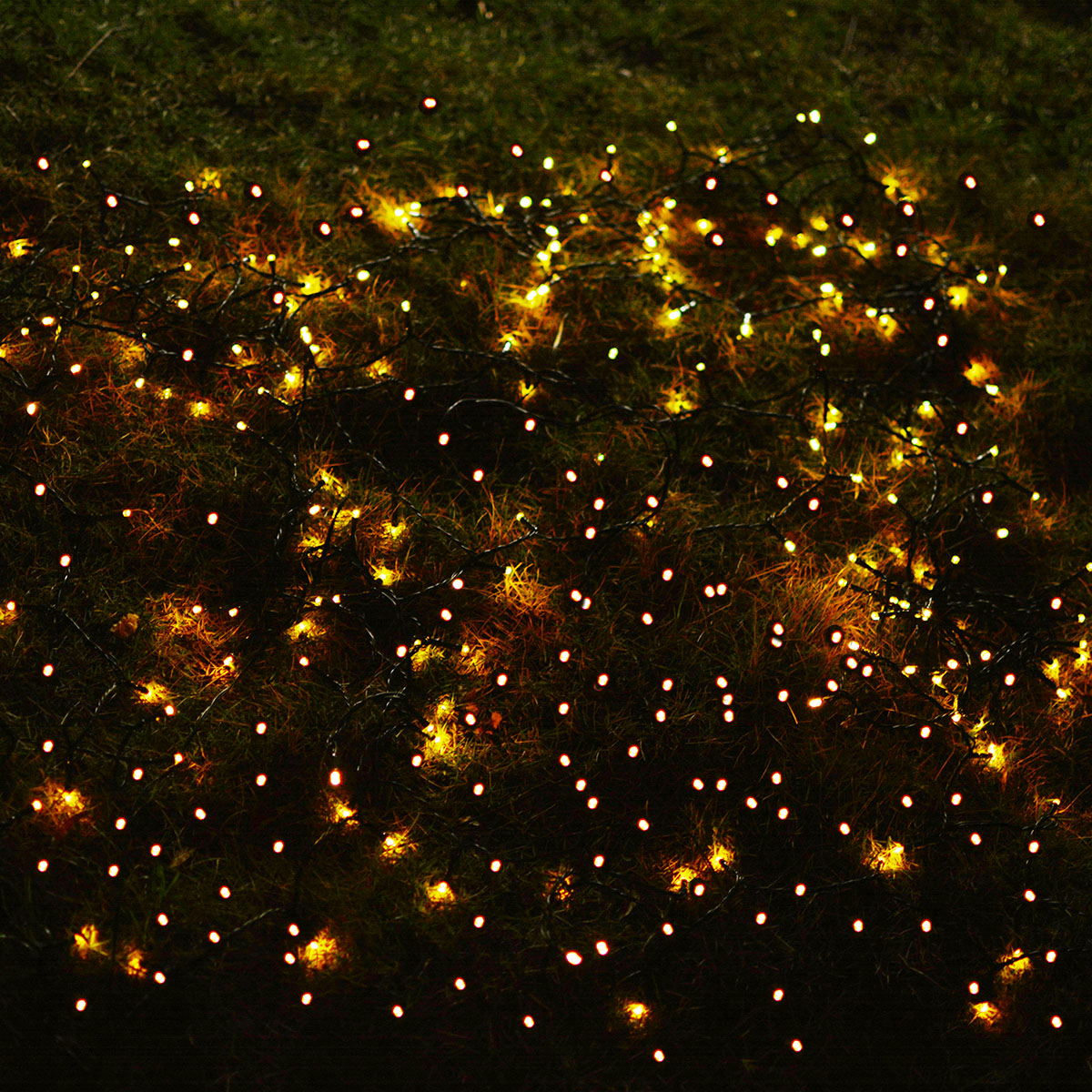 (2-Packs)Solar Outdoor Lights 72ft 200 LED Halloween Fairy String Lights for Gardens,Homes,Wedding,Party,Waterproof(Warm White) - image 12 of 15
