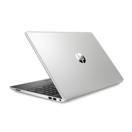 "HP 15 Laptop, 15.6"" HD Touch Display, Intel Core i3-8145U, Intel® UHD Graphics 620, 4GB, 128GB SSD, Natural Silver, 15-dw0034wm"