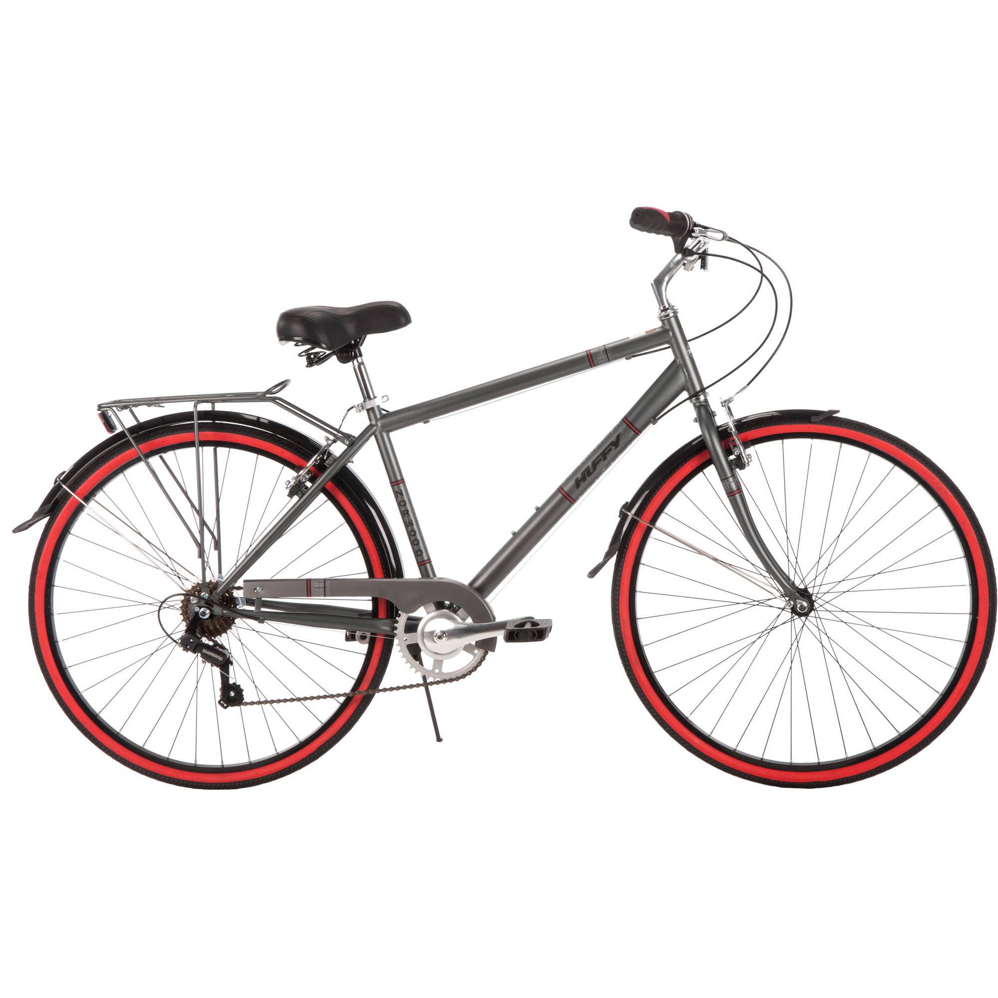 ea713a22ed2 700C Huffy Men's Norwood Cruiser Bike, Grey – Walmart Inventory ...