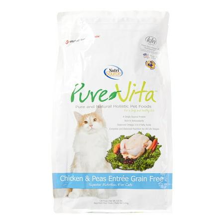 Pure Vita Chicken And Peas Cat Food
