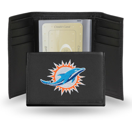 NFL Embroidered Trifold - Miami Dolphins