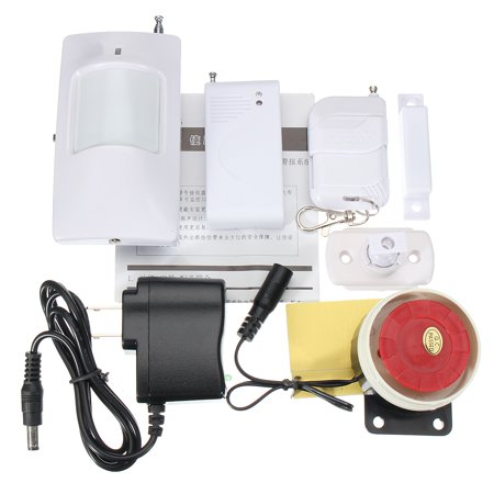 Wireless Home Window Door Remote Control Siren PIR Motion Burglar Security Aalarm System Magnetic Sensor Siren