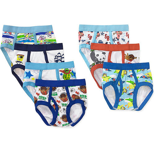 Nick Jr Toddler Boys 7 Piece Underwear Set