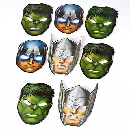Avengers Party Ideas (Avengers Epic Birthday Party Costume Masks,)