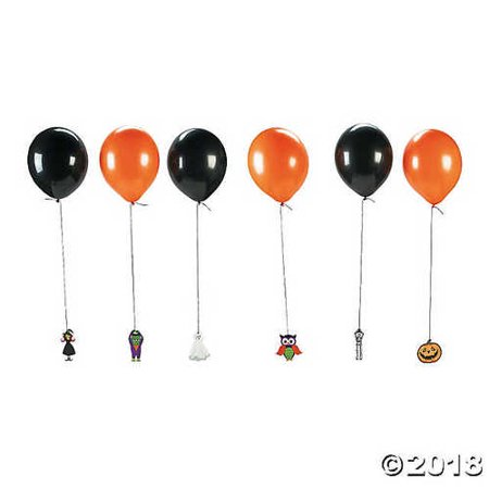 Halloween Latex Balloon Hanging Characters - Cool Characters To Be For Halloween