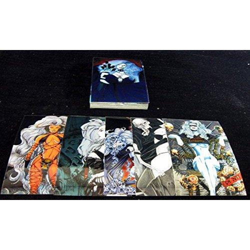 Lady Death Mega Krome Trading Card Box of Cards