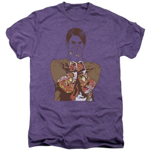 Saturday Night Live SNL Stephon Mens Premium Tee Shirt Deep Purple Heather XL