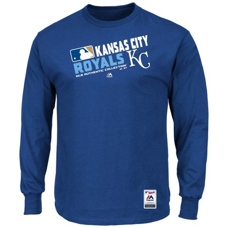 Majestic Baseball Shirts (Kansas City Royals Majestic MLB Authentic