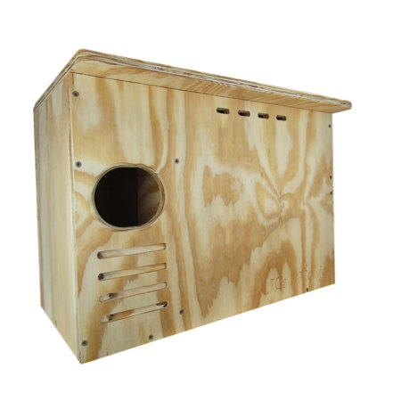 Barn Owl Nesting Box Large House Crafted in USA. JCs Wildlife w Free (Owl House)