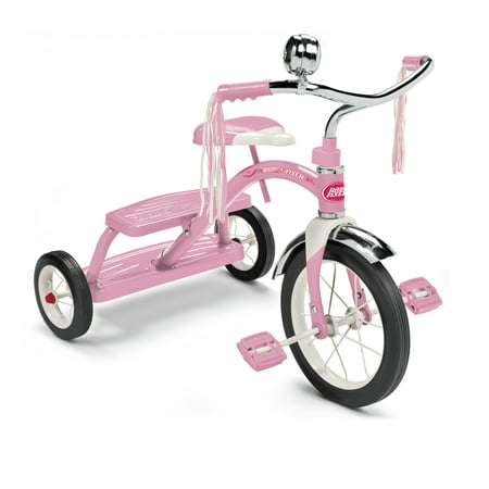 Radio Flyer Classic Pink Dual Deck Tricycle Now $39.97 (Was $69.99)