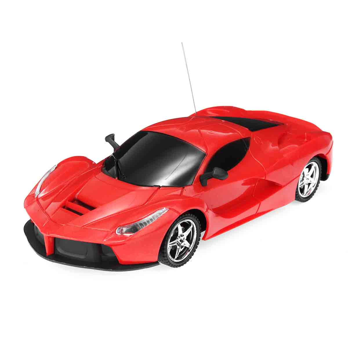 1/24 Scale Lamborghini Radio Remote Control Model Car Toy with Headlights for Kids Adults (Red) Hobby Gift