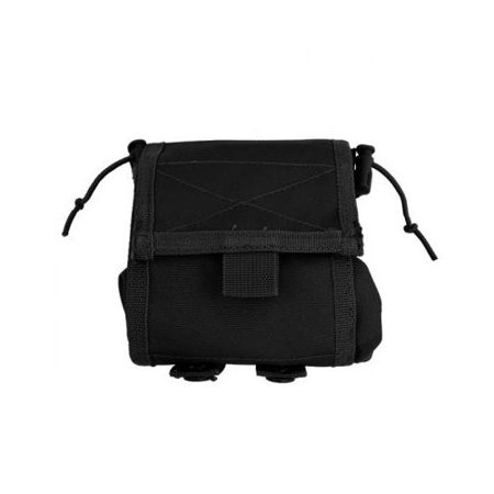 Folding Ammo Pouch (MOLLE Folding Ammo Dump Pouch - Black )