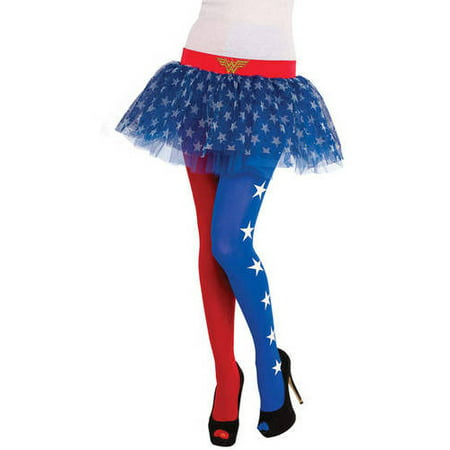 Wonder Woman Tutu Skirt Halloween Costume Accessory - Womens Costumes Halloween