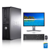 "Dell Optiplex Desktop Computer 360 2.3 GHz Core 2 Duo Tower PC, 4GB, 80 GB HDD, Windows 7, 17  Monitor, USB Mouse & Keyboard Dell Optiplex Desktop Computer 360 2.3 GHz Core 2 Duo Tower PC, 4GB, 80 GB HDD, Windows 7, 17"" Monitor (Brands Vary), USB Mouse & Keyboard (Certified Refurbished) This Certified Refurbished desktop computer tower is tested and certified to look and work like new, with some signs of wear. The refurbishing process includes functionality testing, inspection, reconditioning and repackaging. The product ships with relevant accessories, a minimum 90-day supplier warranty, and may arrive in a generic white or brown box. Accessories may be generic and not directly from the manufacturer. Only select sellers who maintain a high performance bar may offer Certified Refurbished desktop computer tower products. Intel Core 2 Duo 2.3 GHz CPU 