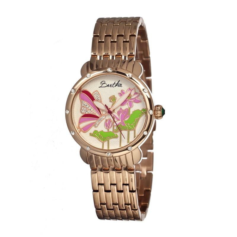 Bertha Br1603 Stella Ladies Watch