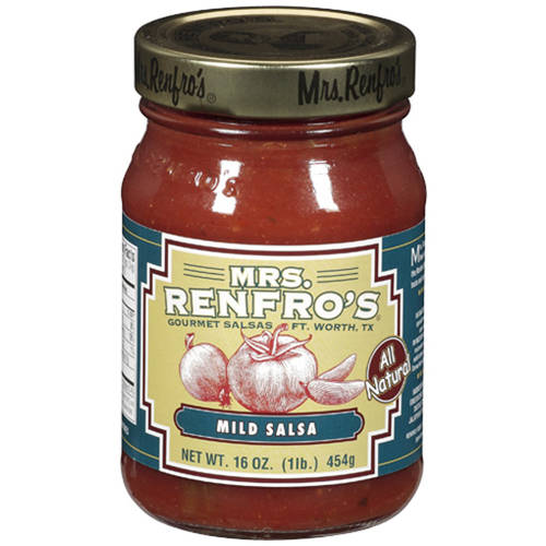 Mrs Renfros Mild Salsa, 16 OZ (Pack of 6)