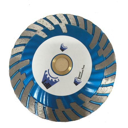 - 3-Pack DPT 4-1-2 Inch Diamond Saw Blade Turbo for Cutting Granite