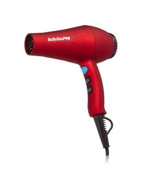 BaBylissPRO Tourmaline Titanium 3000 Hair Dryer, Red