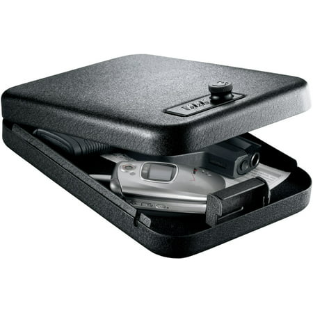 Gunvault Nano Vault Gun Safe, Black