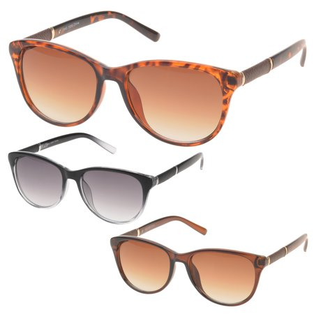 MLC Eyewear 'Nicola' Oval Fashion Sunglasses (SET OF (See Eyewear Sunglasses)