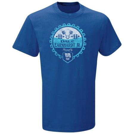 Dale Earnhardt Jr. The Game Gear Head T-Shirt - Royal Blue