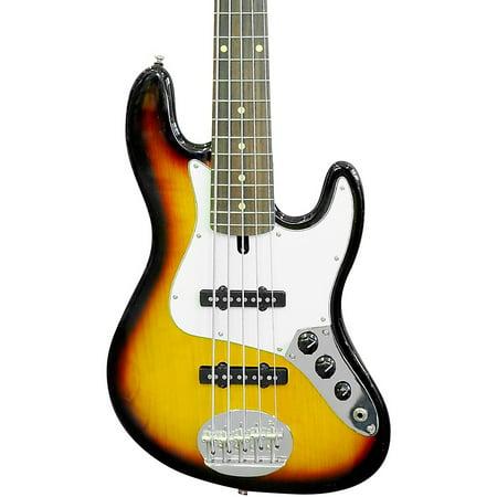 Lakland Skyline 55-60 Rosewood Fretboard 5-String Electric Bass Guitar 3-Color Sunburst