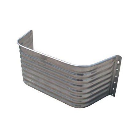Tiger Brand Jack - Tiger Brand Jack Post AW-24S Square Window Well Area Wall, 22-Ga. Galvanized Steel, 24-In.